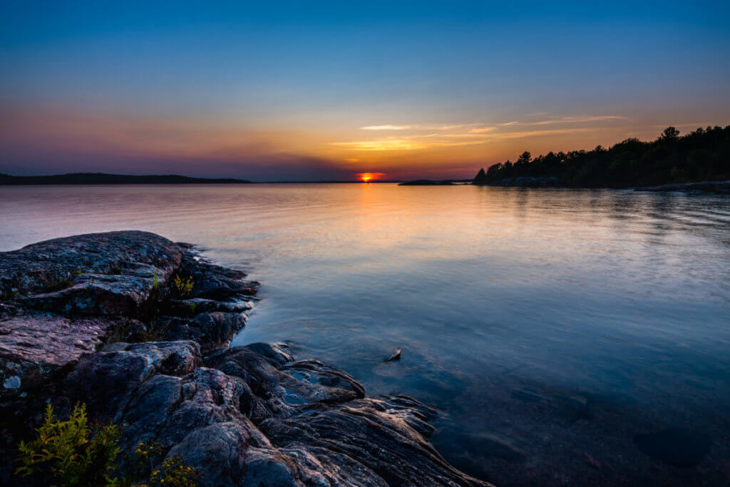 Lake Huron Sunset Picture